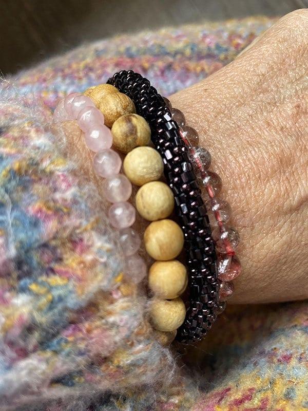 Rose Quarts Love bracelet-01